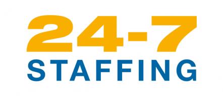 24-7 Staffing logo