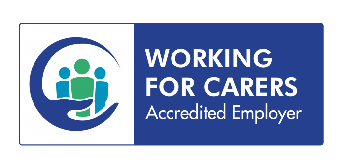 Working for Carers Accredited Employer badge