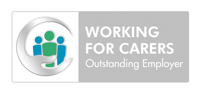 Working for Carers Outstanding Employer badge